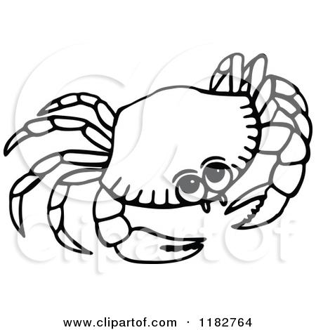 Seafood clipart marine animal White Clipart Panda Clipart Black