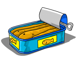 Sardine clipart cartoon #5