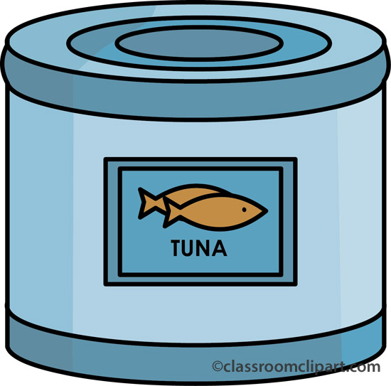 Sardine clipart tuna can #12