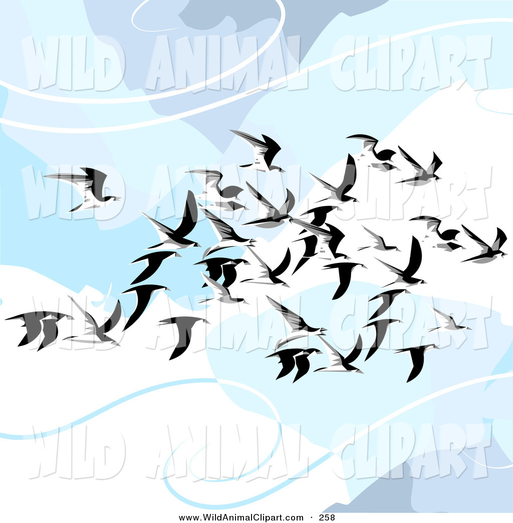 Wildlife clipart scenery Birds  in of Art