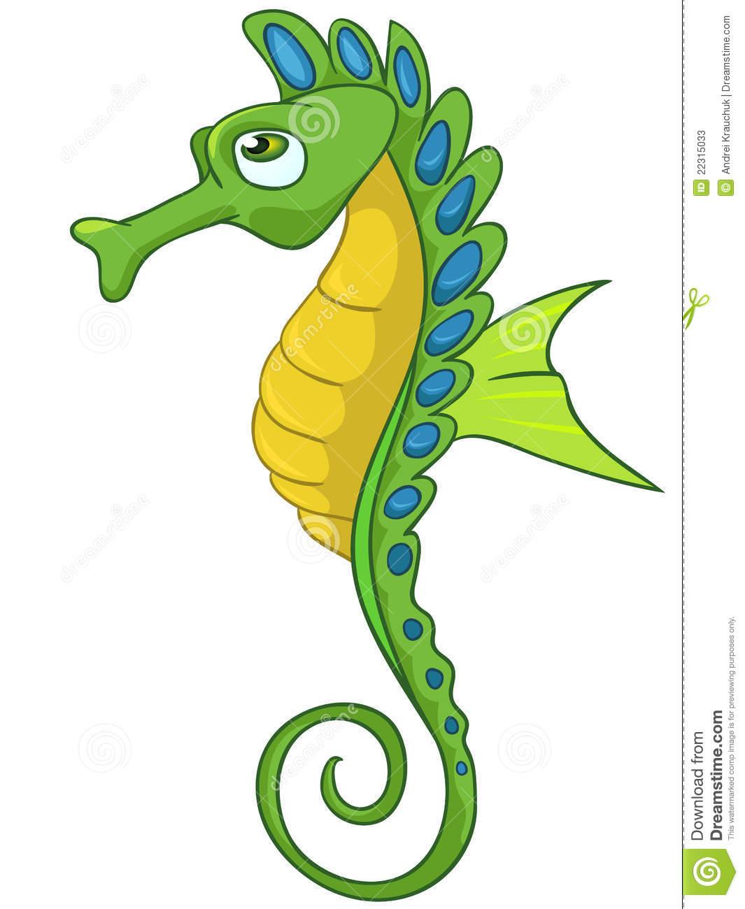 Seahorse clipart #8