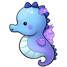 Seahorse clipart Of art Free Starfish site