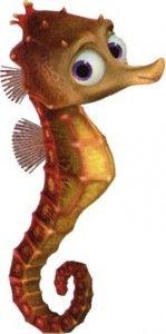 Seahorse clipart disney #9