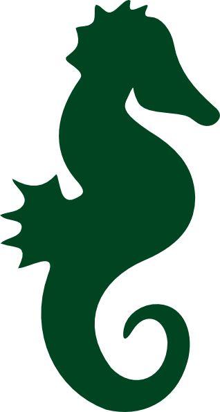 Seahorse clipart family #15