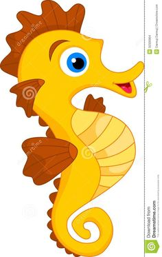 Seahorse clipart pregnant #3