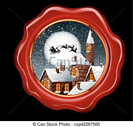 Seal clipart christmas #13