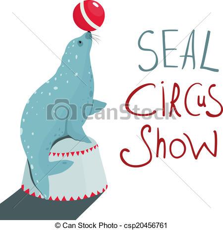Seal clipart circus show #13
