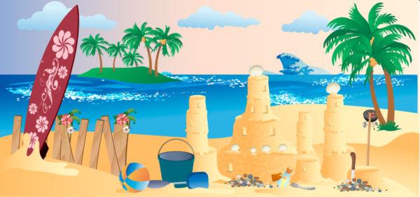 Seascape clipart dagat #5
