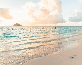 Seascape clipart hawaiian beach #5