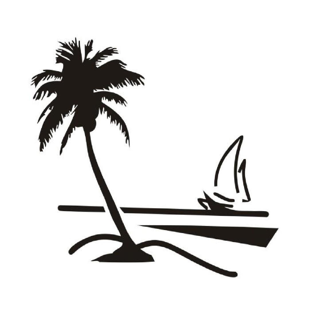 Seascape clipart pantai #11