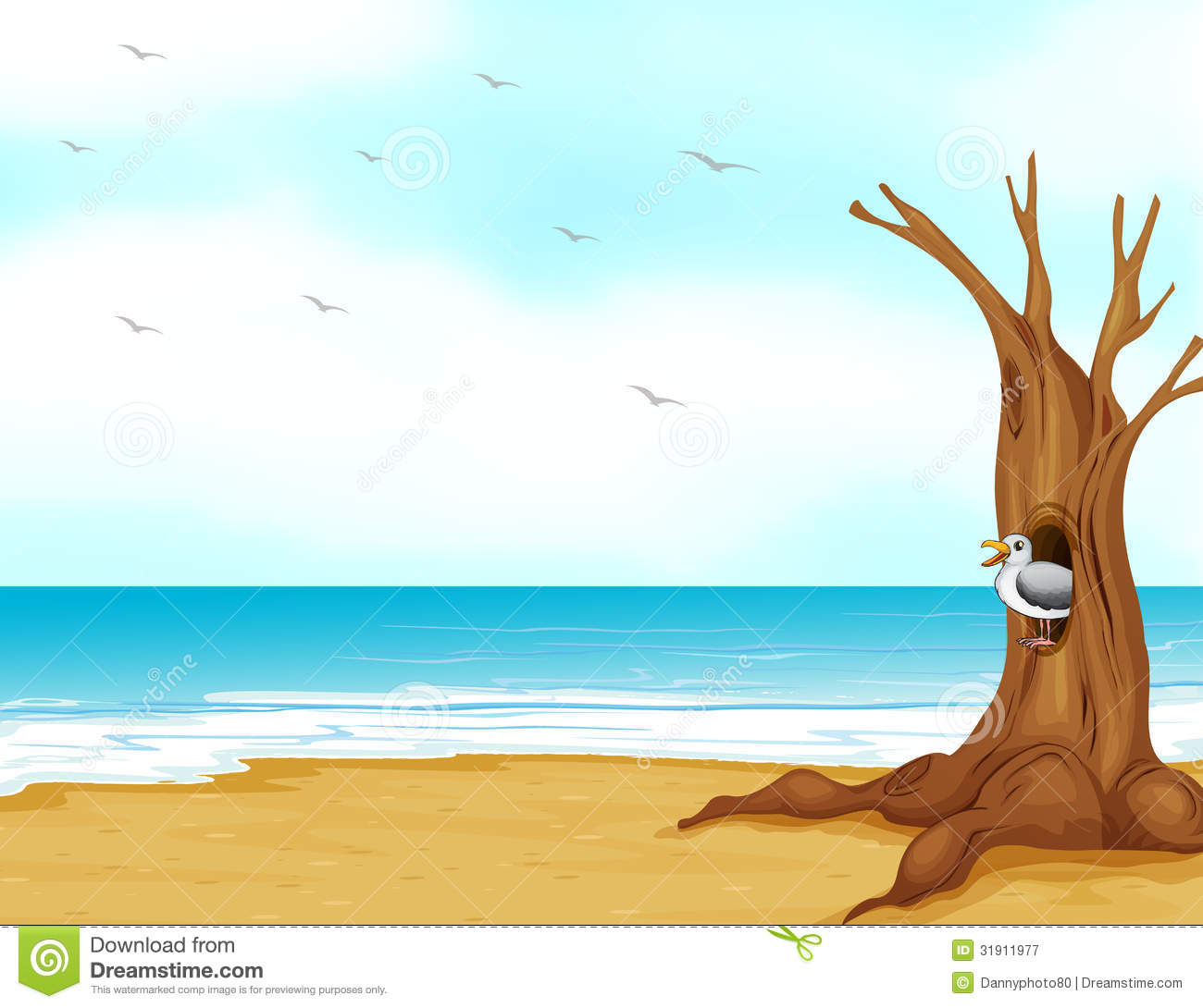 Seaside clipart seashore #1