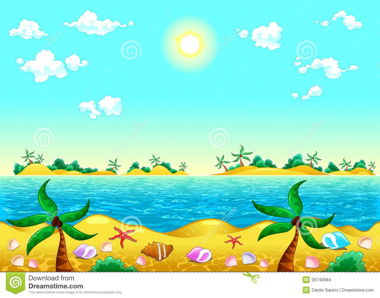 Seashore clipart Art Download Clip Seashore –
