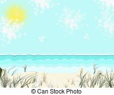 Beach clipart seashore Art while remembering Seashore Seashore