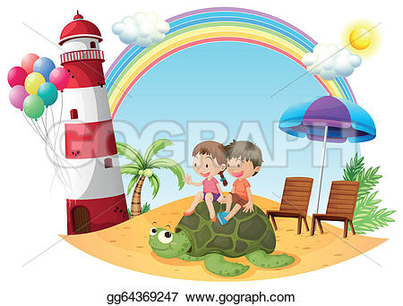 Seashore clipart cartoon #15