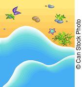 Seashore clipart Stock Seashore 524 Drawingby Seashore