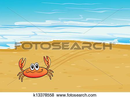 Seashore clipart summer scenery #6