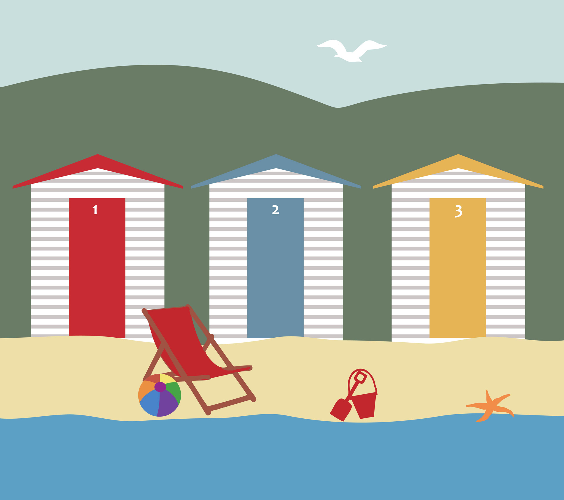 Seaside clipart #15
