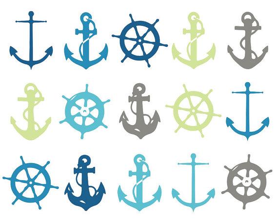 Seaside clipart anchor #15