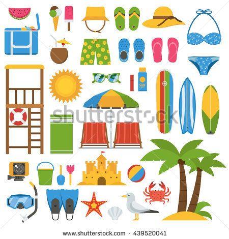 Seaside clipart beach accessory #3