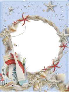 Seaside clipart beach frame #9