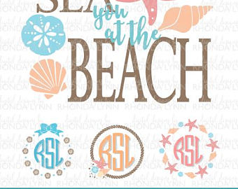 Seaside clipart beach frame #14