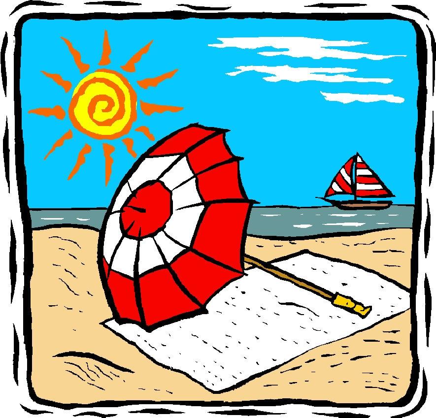 Vacation clipart sunny beach Clip Art Clip Summer Download