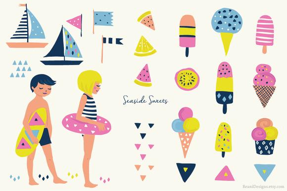 Seaside clipart beach item #14