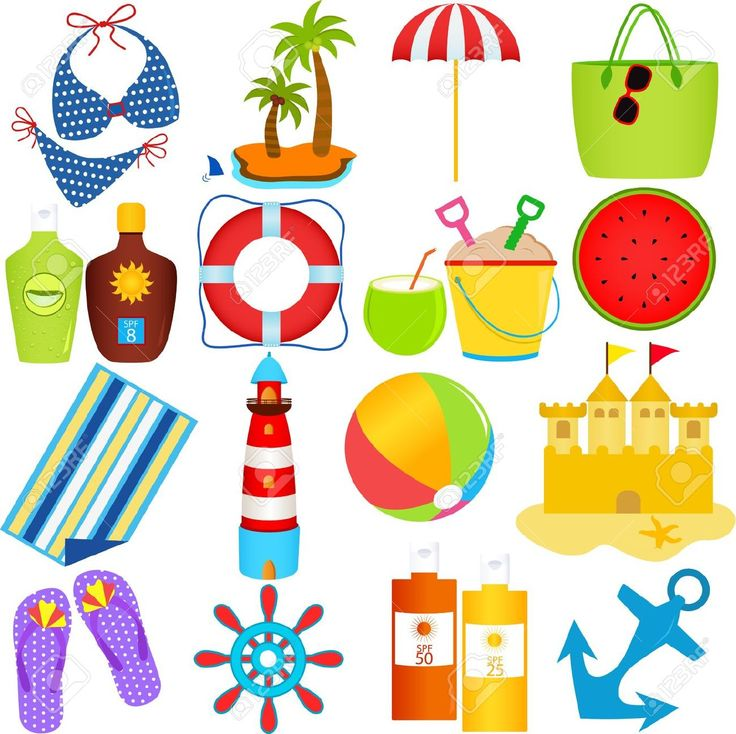 Seaside clipart beach item #15