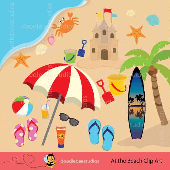 Seaside clipart beach item #13