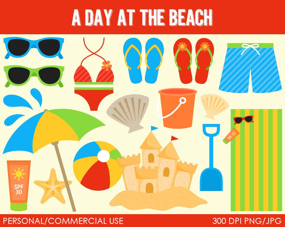 Seaside clipart beach item #9