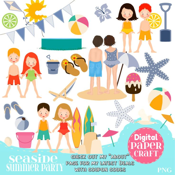 Seaside clipart beach item #11