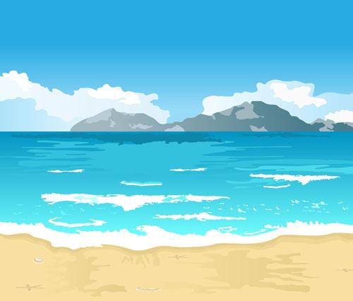 Scenery clipart seaside #4