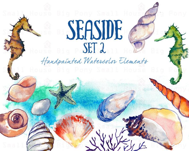 Seaside clipart beach swimming #6