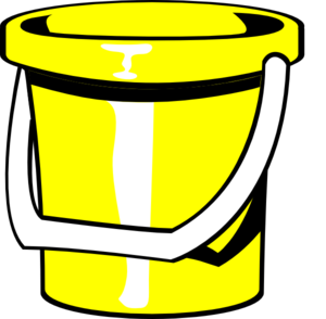 Yellow clipart pail Free Images Seaside Clipart 20clipart