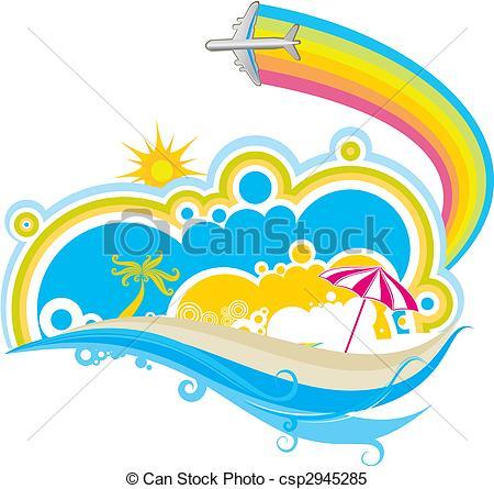 Scenery clipart seaside #2