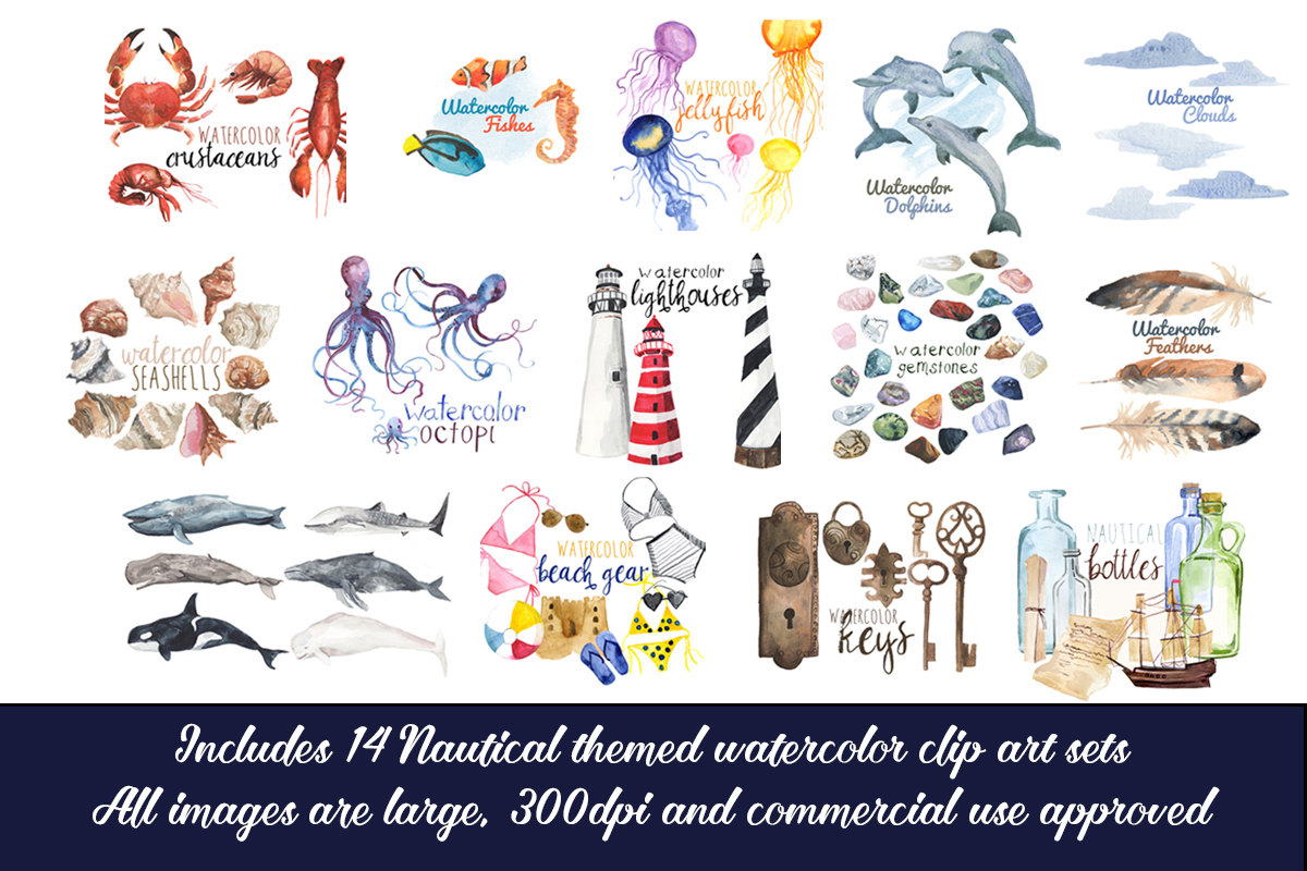 Seaside clipart nautica #5