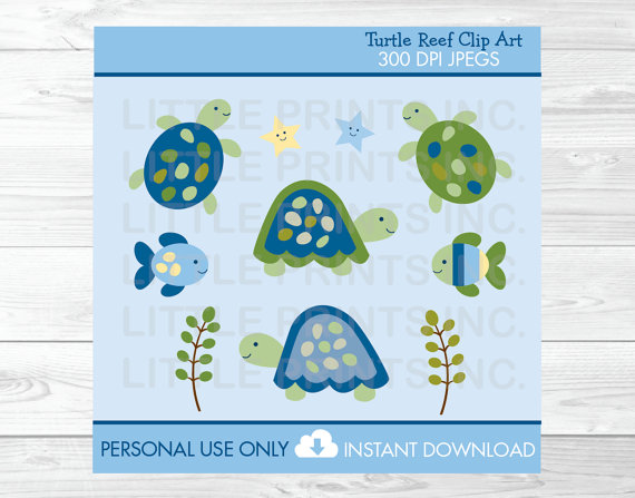 Turtle clipart baby shower Sea Shower The Clip /