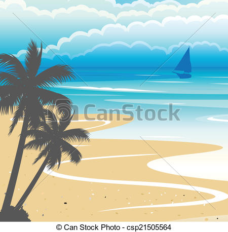 Seaside clipart seashore #11