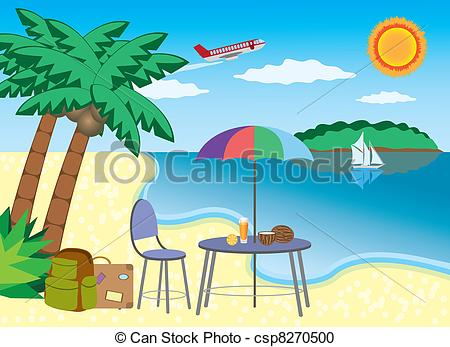 Seaside clipart seashore #6