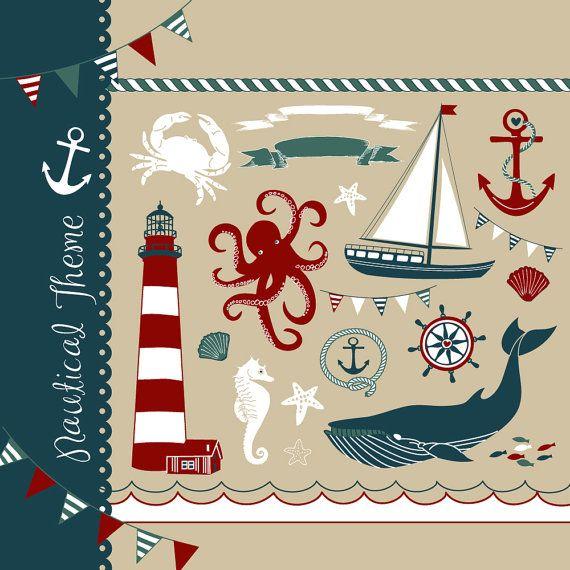 Seaside clipart themed #11
