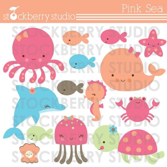 Seaside clipart themed #14