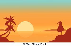 Scenery clipart seaside #12