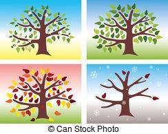 Season clipart 640 Art four illustration of
