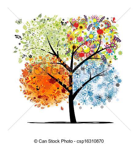 Season clipart autumn winter #12
