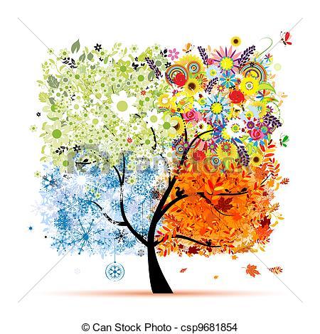 Season clipart autumn winter #15