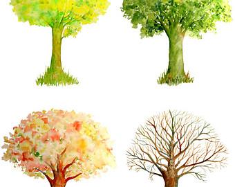 Season clipart autumn winter #14