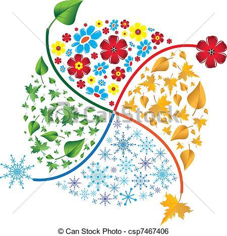 Season clipart autumn winter #6