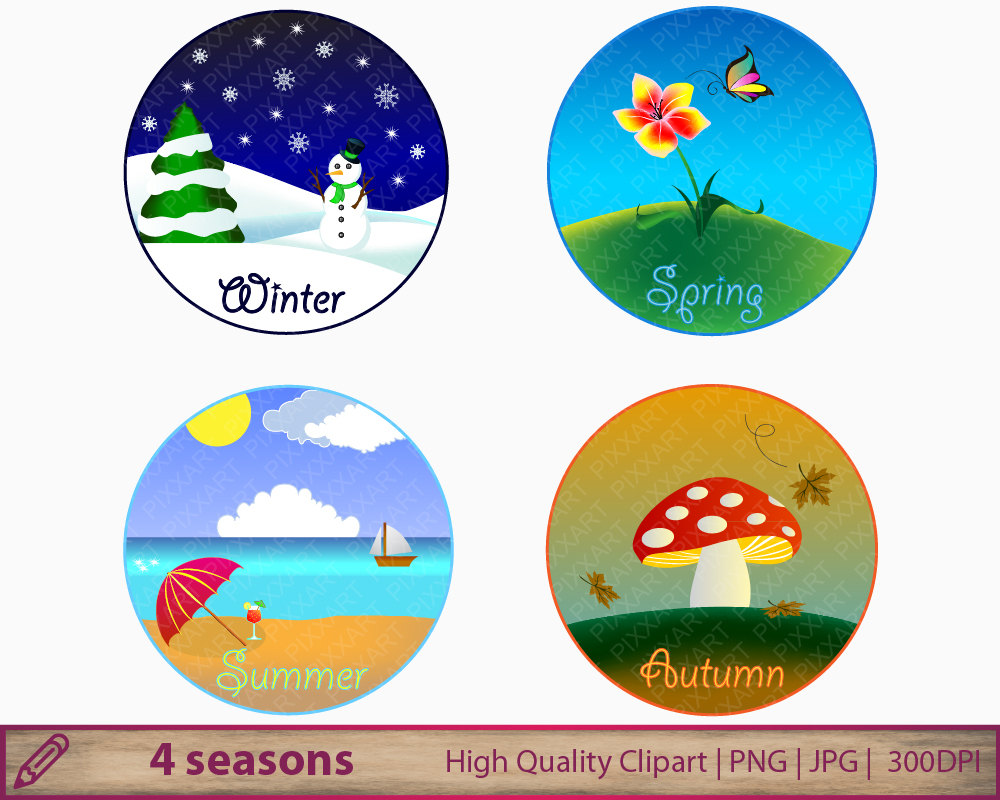 Season clipart autumn winter #10