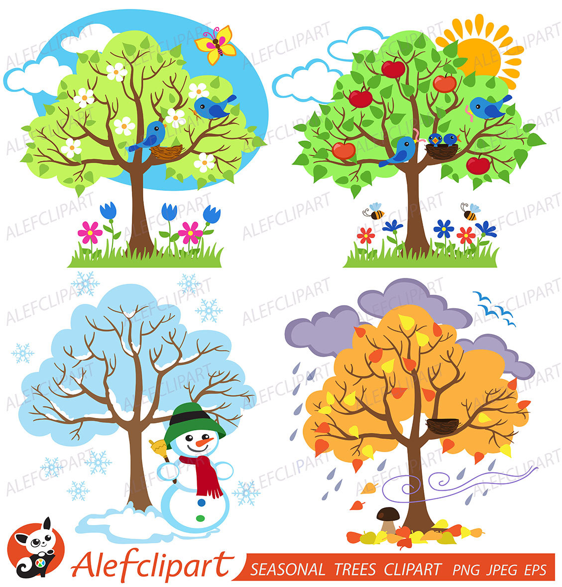 Season clipart seasonal #3