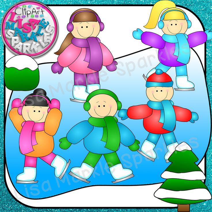 Season clipart snow ice #10